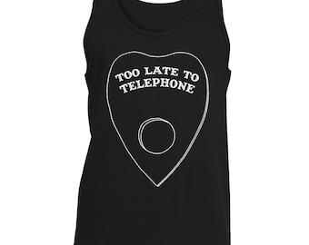 Too Late to Telephone Long Sleeve Tank Top