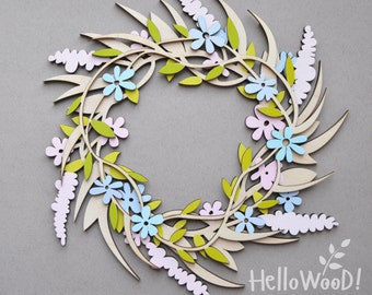 Spring Summer Wreath Decoration