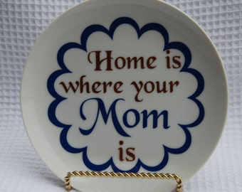 Mothers day gift, gift for mom, gift for her, custom plate for mom, Unique mothers day gift, Unique gift for mom, personal gift for mom