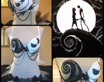 The Nightmare Before Christmas Bra / Costume