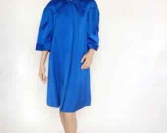 SALE~ WAS 150! Harrods 1960's Silk Duster Coat