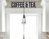 Reproduction Coffee & Tea Sign