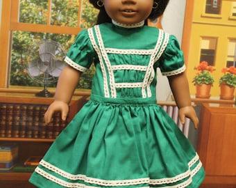 Historical Handmade Civil War Era 18 Inch Doll Clothes