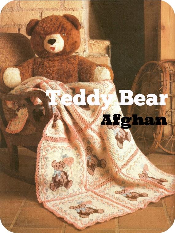 Teddy Bear Design Cross Stitch Amp Crochet Pdf Pattern For Baby