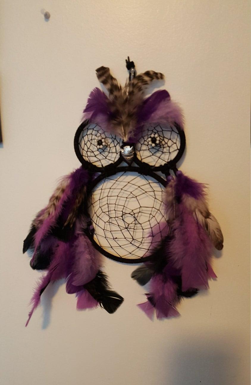 Owl dreamcatcher drawing - photo#49