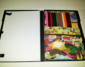 Travel Coloring Case (Spider Man)