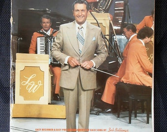 Piano Sheet Music - Lawrence Welk - 1978 - Arrangement by Zeb Billings - Easy to play Piano, Vocal, and Guitar