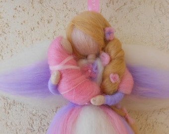 SWEET FINISH staple birth outside the city and fairytale wool felt, gift idea for baby