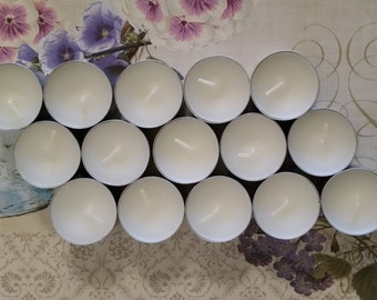 Scented tealights - 100% natural soy wax
