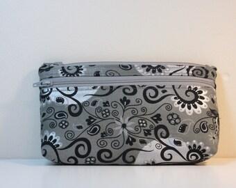 Two Zipper Bag or Accessory Bag