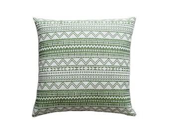 Decorative pillow,white pillow,pillow cover,throw pillow,green pillow,cushion cover,accent pillow,home decor,brahma,pillow,pillow covers