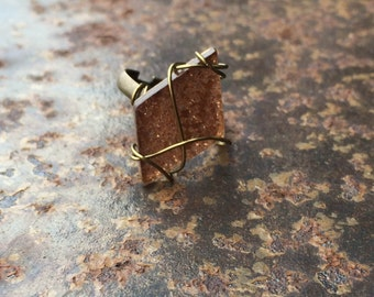 Geometric Ring (Rose Gold)