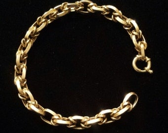 14K Yellow Gold Milor Italian Bracelet