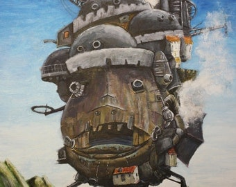Howl's Moving Castle - Print