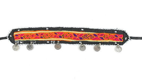Boheme Child Headband, Afghani Head Piece, Vintage, Middle Eastern, Festival Style, Tribal, Ethnic, BOHO, Gypsy,
