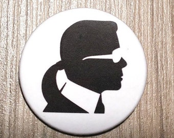 Karl Lagerfeld button