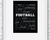 Football Words Wall Art P...