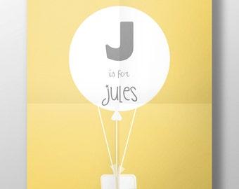 Displays balloon name [customize] [printable]