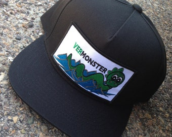 Vermont Champ -- Vermonster cotton cap with patch