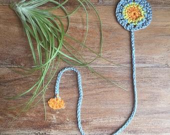 Mini Mandala Crochet Bookmark  