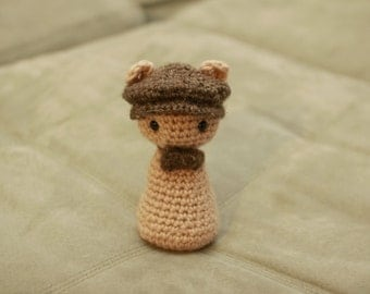 Crochet Newsies Toy Animal : English Bowtie Retro Norland