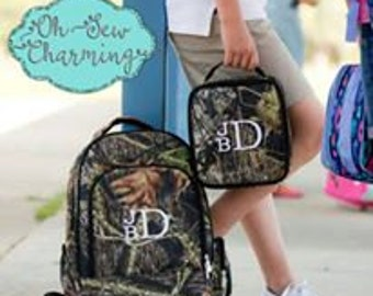Personalized Camo BackPack