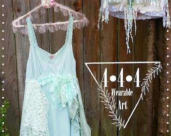 Sea Foam Pixie Slip Dress