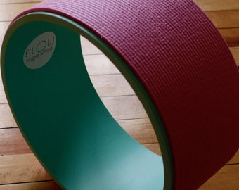 Yoga Wheel - Pink/Dark Teal