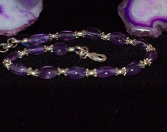Amethyst Bracelet/Anklet