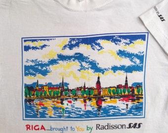 Vintage Riga SAS White Tshirt