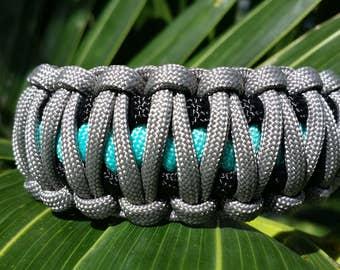 Paracord Bracelet, Custom Paracord, Custom Bracelet, Survival Bracelet, Wide Paracord, Handmade Bracelet, King Cobra Paracord, Rope Bracelet