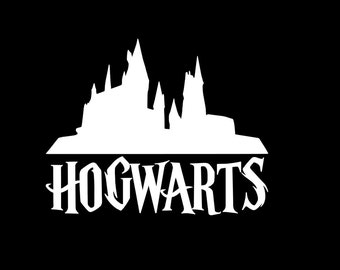Harry potter decal harry potter harry potter glasses with - Hogwarts decal ...