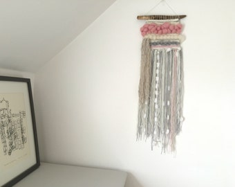 Woven Wall Hanging - Think Pink
