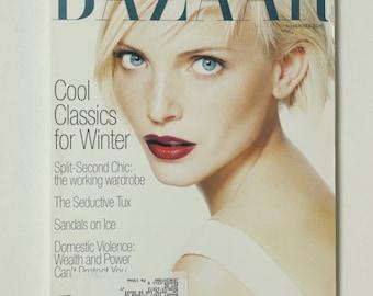 Vintage Harper's Bazaar Magazine November Nov 1994 Fashion