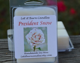 President Snow The Hunger Games Scented Roses Scented Soy Wax Tart Melts