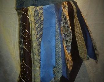 Jean/Tie Skirt ***