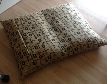 Hessian Dog Bed Cover