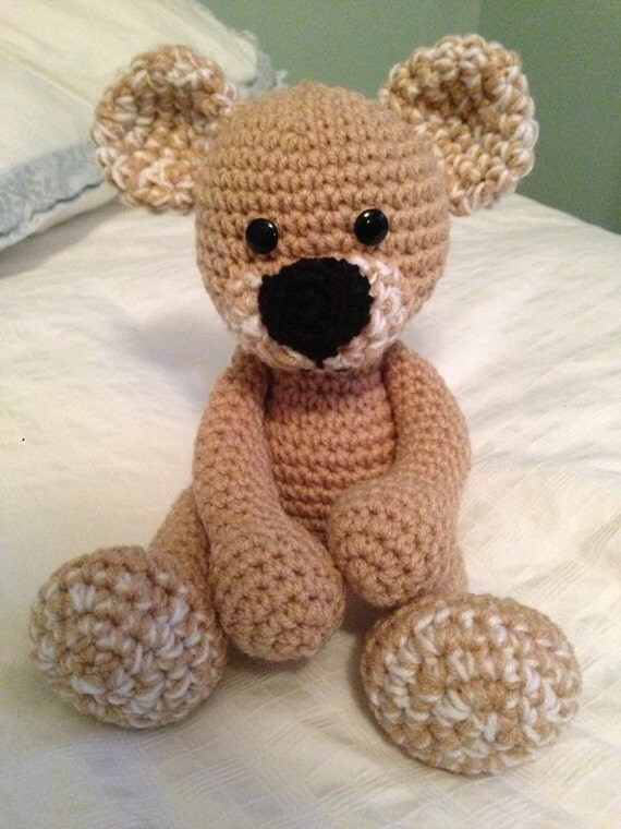 Amigurumi Crochet Patterns Teddy Bears : Crochet amigurumi Teddy Bear Pattern
