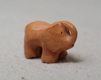 Baby Orange Elephant