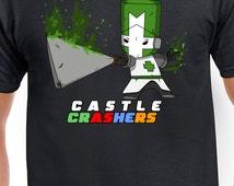 Castle Crashers Poison Green Knight T-Shirt