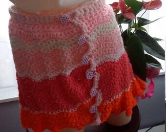 Crocheted skirt size medium