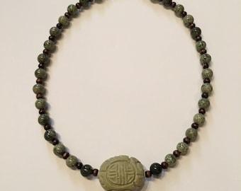 Custom made Jade necklace