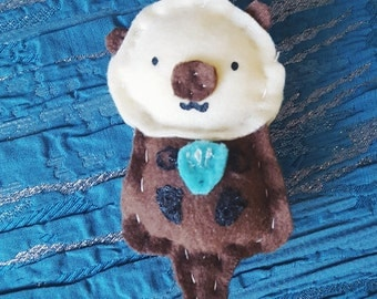 Stuffed Sea Otter