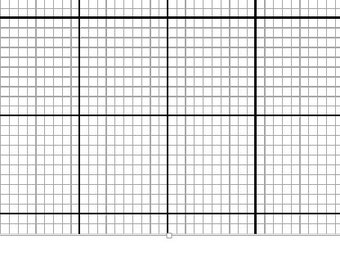 Instant PDF Download - Graph Paper - Cross Stitch 10 Squares Per Inch