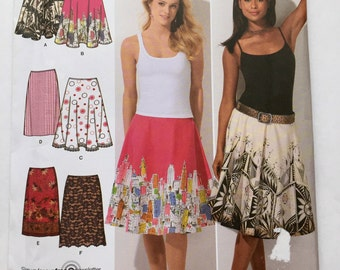 Simplicity 4236 Skirts Sizes 6-14