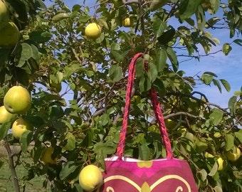 Pink Flower bag