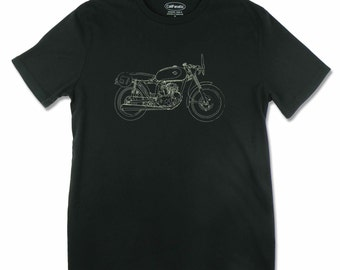 Men's Ducati 125 Sport Motorcycle T-shirt, motorcycle gifts, motorhead, motorcycle rider t shirt, biker t shirt, motorcycle clothing
