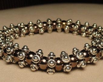 Silver Pewter Bracelet