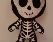 Skeleton Stuffed Plushie