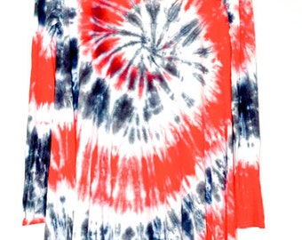 Tie-dye Swing Dress / A-line dress